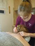 akupunktura - zabieg akupunktury w gabinecie Taolive