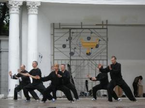 pokaz Tai Chi w Łodzi - Park Julianowski