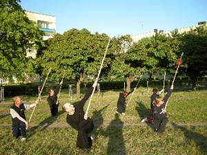trening Tai Chi Łódź Górna - włócznia