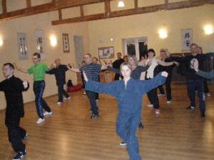 trening Tai Chi w Łodzi na Widzewie - grupa początkująca - forma ręczna