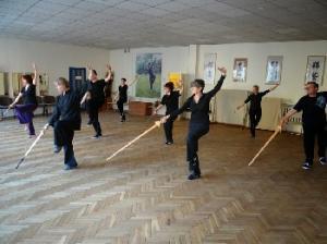 trening Tai Chi - Łódź - forma z mieczem